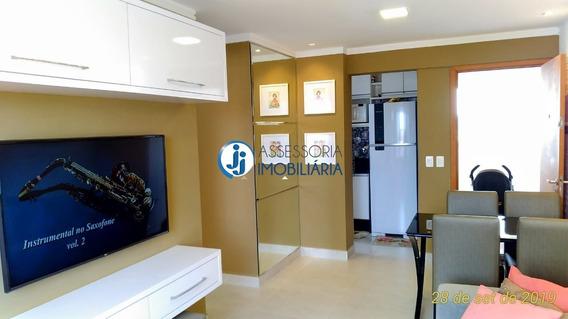 Condomínio Caminho Das Dunas - Venda De Apartamento Em Capim Macio, Com Dois Quartos, Sendo Um Suíte, Em Andar Alto - Ap14166 - 34594253