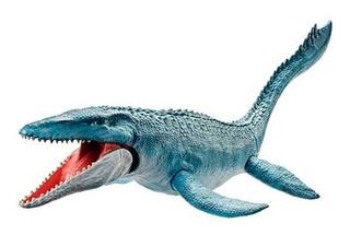 Mosasaurus Jurassic World Textura Real 71cm Fng24 Mattel