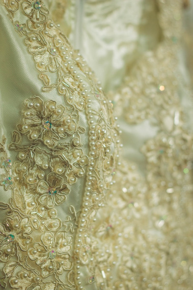 Vestido De Noiva, Confeccionado Sob Medida.