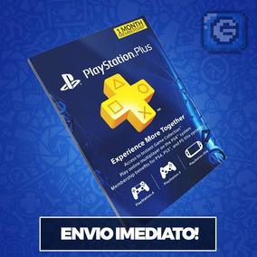 Cartão Psn - Playstation Network Plus Usa 1 Mês Americano