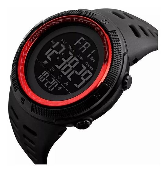Reloj Skmei Resistente Al Agua Cronómetro Alarma Fecha 1251