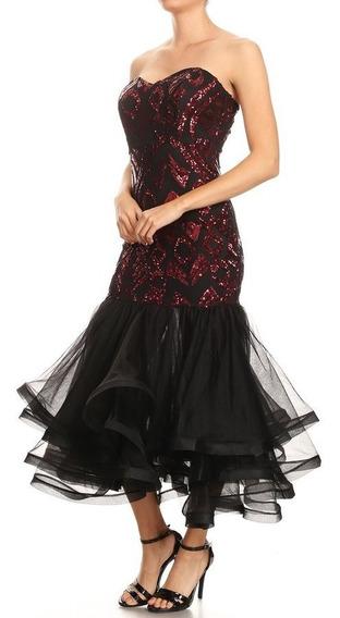 Vestido De Noche Elegante Boda