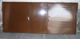 Puerta Chapa Dos Hojas De Abrir Panel Fijo