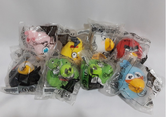 Angry Birds Mc Donalds Mcdonalds Mac Lanche Feliz Completa