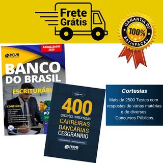 Kit Apostila Concurso Banco Do Brasil + Livro De Questões