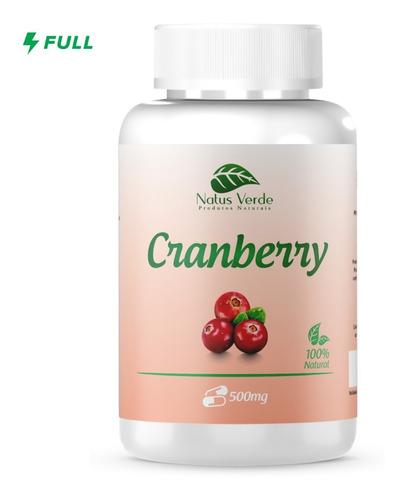 Cranberry 100 Caps 500mg - Infecção Urinária - Antioxidante