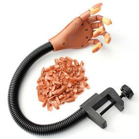 Mão Articulada Treino Manicure Unhas Gel Acrigel P/entrega