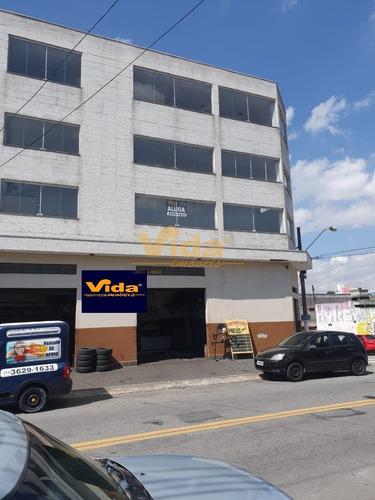 Imagem 1 de 8 de Salão Comercial Para Locação Em Cipava  -  Osasco - 27202