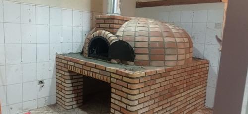 Imagem 1 de 5 de Forno A Lenha Completo Pizzaria R$7000,0011982914368
