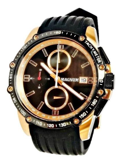 Relógio De Pulso Masculino Esportivo Magnum Frete Gratis