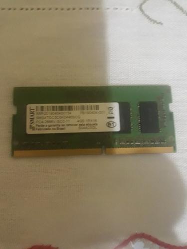 Imagem 1 de 2 de Memoria Ddr4 4gb Para Notebooks