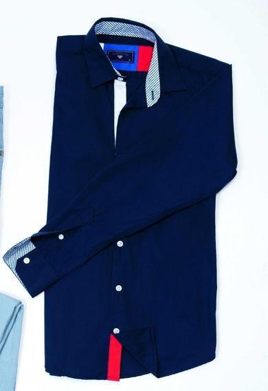 Camisa Casual/formal Para Caballero Marino Zarevich Condor
