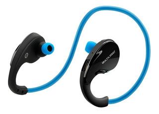 Fone De Ouvido Arco Sport Bluetooth Azul Ph182 Multilaser
