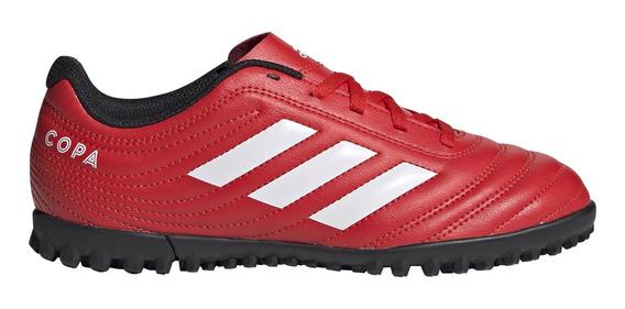Botines adidas Futbol Copa 20.4 Tf J Rj/bl