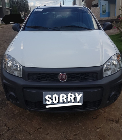 Fiat Strada 1.4 Hard Working Cabine Dupla Flex 2019