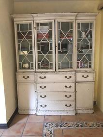 Exelente Mueble De Cocina Antiguo De Caoba