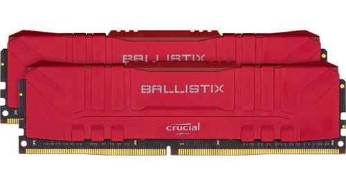Memoria Ram Crucial Ballistix 32gb Kit 2x16gb Ddr4 3200 Mhz