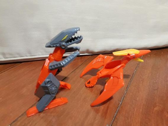 Brinquedo Que Se Transforma Em Dinossauro ( 15cada )