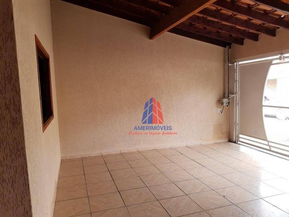 Casa Com 3 Dormitórios Para Alugar, 130 M² Por R$ 1.300/mês - Parque Residencial Jaguari - Americana/sp - Ca1192