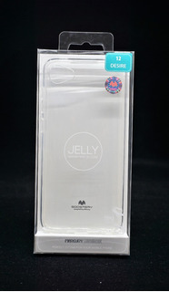 Funda Htc Desire 12 Mercury Goospery Transparente Jelly