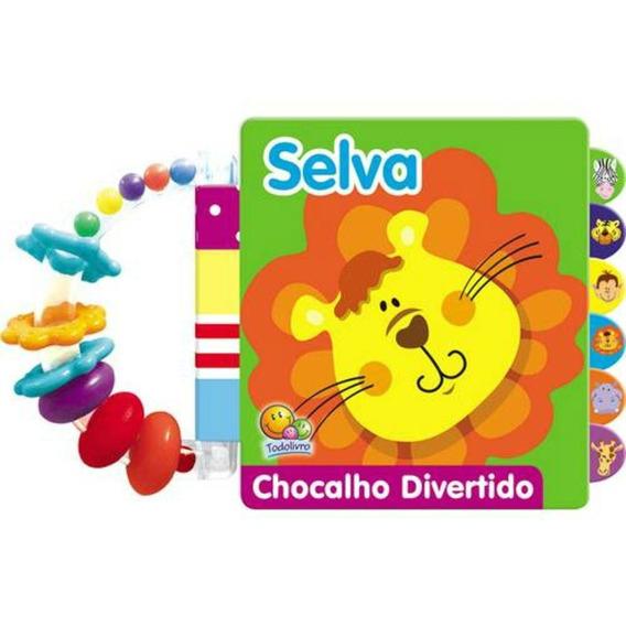 Livro Chocalho Divertido Selva Todo Livro Oferta