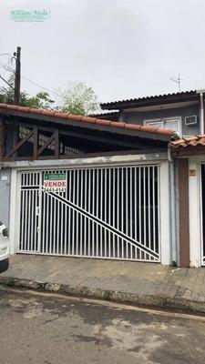 Sobrado Com 3 Dormitórios (1suíte Com Closet) À Venda, 186 M² Por R$ 500.000 - Jardim Santa Clara - Guarulhos/sp - So1612