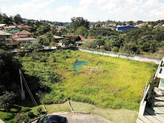 Terreno À Venda, 1000 M² Por R$ 550.000 - Jardim Passárgada I - Cotia/sp - Te0007
