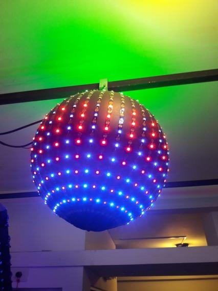 Efecto Esfera Led Inteligente 40cm 600 Pixel Leds En Total
