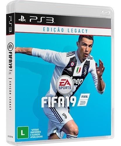 Jogo Ps3 Fifa 19 Ed. Legacy