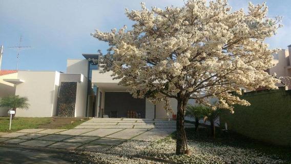 Casa Residencial À Venda, Condomínio Portal De Itaici, Indaiatuba. - Ca0543