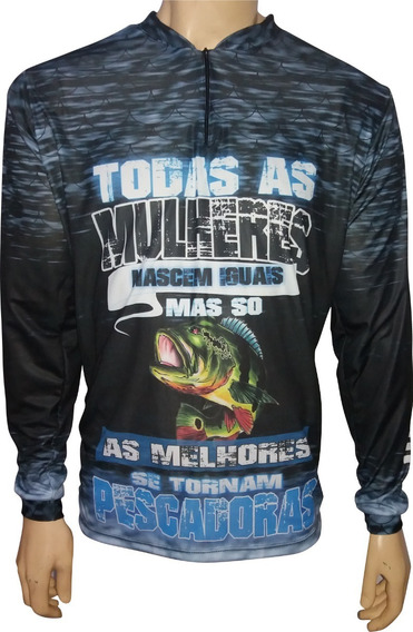 Camisa De Pesca Esportiva Personalizada R.05 Tucunare