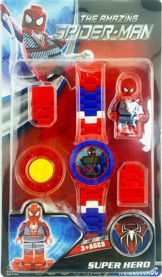 Reloj Tipo Lego Spaiderman