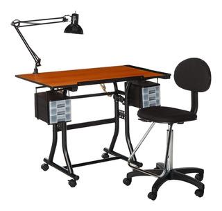 Mesa Para Dibujo Con Silla Escritorio Dibujar Vbf