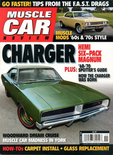 Muscle Car Review Nov/2008 Charger R/t Impala Ss 427 1967