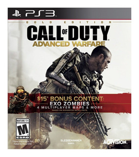 Call Of Duty Advanced Warfare Gold Edition Ps3 (en D3 Gamers