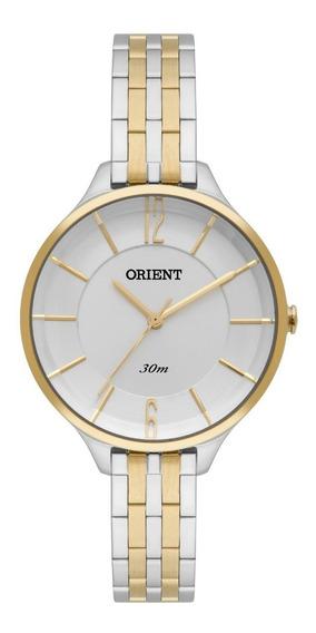 Relógio Orient Feminino Ftss0041 S2sk Misto Analogico Oferta