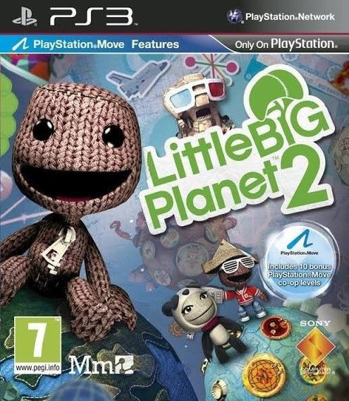 Little Big Planet 2 Ps3 Original Envio Imediato Psn!