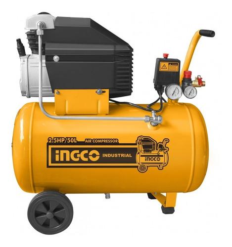 Ff Compresor De Aire 50 Lts; 2,5hp; 8bar Ingco Ac25508 96db