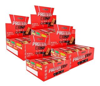 Kit 4x Caixa Barra Protein Crisp 12 Un - Integral Médica