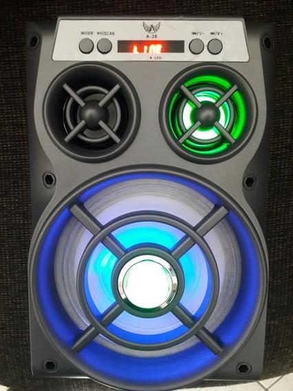 Caixa Mp3 Bluetooth Recarregável.