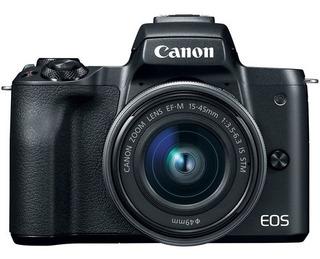 Cámara Mirrorless Canon Eos M50 Con Adaptador Y Lente 15-45m