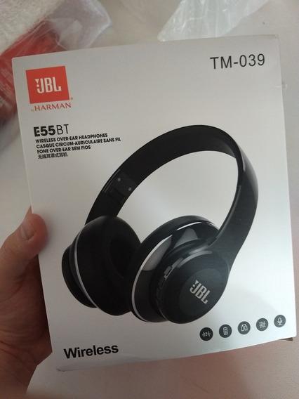Fone De Ouvido Bluetooth Tm-039 Igual A Jbl E55bt