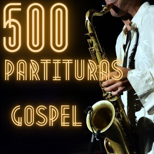 Imagem 1 de 4 de Partituras 500 - Sax Alto Gospel + Bonus