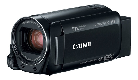 Camara De Video Full Hd Canon Vixia Hf R82 Wi Fi Memoria Int
