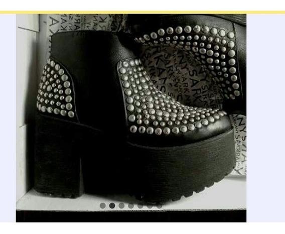 Liquido Ya! Zapatos Ricky Sarkany Con Tachas Como Nuevos