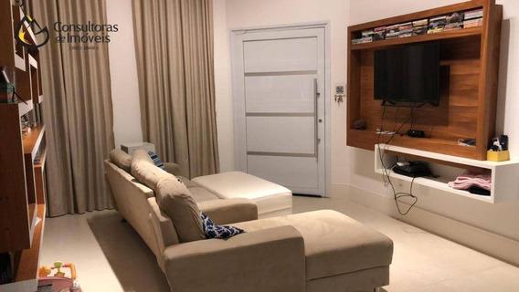 Casa Com 3 Dormitórios À Venda, 170 M² Por R$ 680.000,00 - Condomínio Campos Do Conde Ii - Paulínia/sp - Ca1193