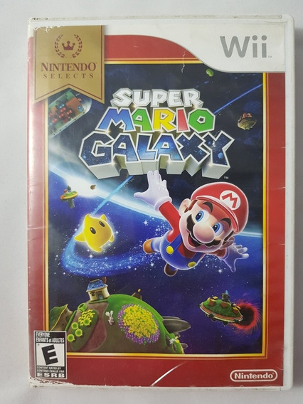 Super Mario Galaxy Wii Mídia Física Pronta Entrega