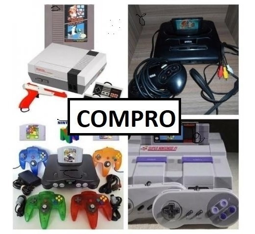 Compro Video Games Antigos