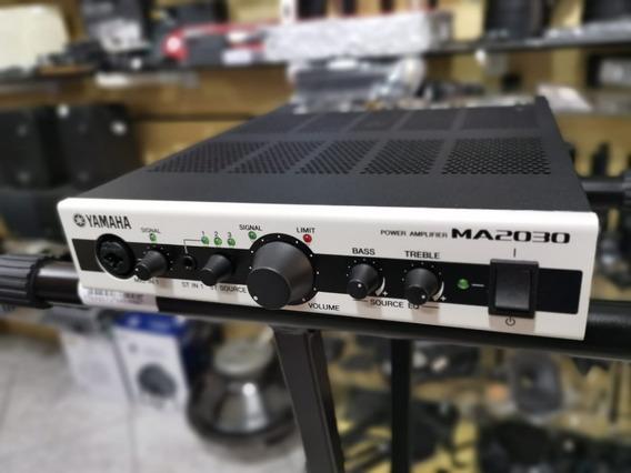 Amplificador Para Som Ambiente Yamaha Ma 2030a Perfeito!