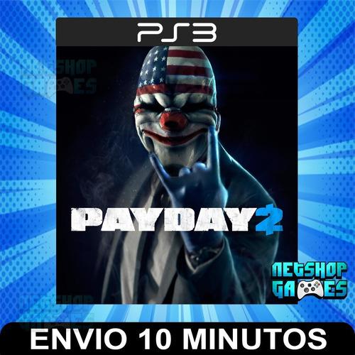 Payday 2 - Ps3 Digital - Español - Entrega Rápida
